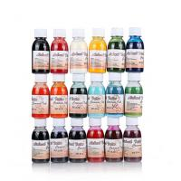 China Air Brush Paint Body Water - Based Liquid Ink For Temporary Tattoo 18 Colors on sale