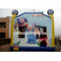 China Disney's Lilo & Stitch inflatable bouncy castle / Interesting Inflatable Bounce House wholesale