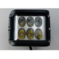 """Quality 45W 4.5"""" Square LED Driving Lights 6500k Offroad Truck Work Lights 3800 Lumen for sale"""