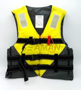 China Jetski Yellow Color Water Sports Leisure Life Jacket Flotation Adult Life Vest wholesale
