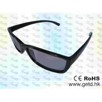 China Black Cinema Circular polarized Reald 3D glasses wholesale