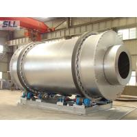 China Low Fuel Consumption Sand Dryer Machine Rotating Drum Dryer With Burner Natural Gas wholesale