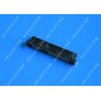 China Black Slim Serial Attached SCSI Connector , Female SAS SFF 8482 Connector wholesale