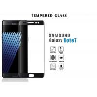 China Samsung Note 7 Samsung Tempered Glass Screen Protector 3D Full Cover Black on sale