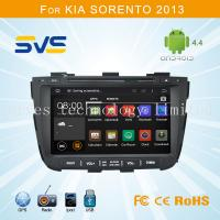 China Android 4.4 car dvd player GPS navigation for KIA Sorento 2013 8 touch screen 3G wifi dvr wholesale