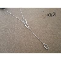 China fashion jewelry 925 sterling silver necklace W-VD182 on sale