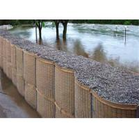 China Professional Hesco Bastion Barrier For Bridge Protection / Flood Bank on sale