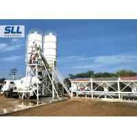 China HZS50 Ready Mix Batching Plant , Ready Mix Concrete Plant Without Cement Silo wholesale