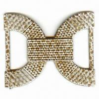 China Fashionable Buckle for Garment or Belt, Made of Plastic Material, with 45mm Inside of Each Side wholesale