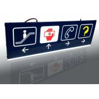 China Shopping Mall Interior Wayfinding Signage , Double Sides Outdoor Wayfinding Signs wholesale