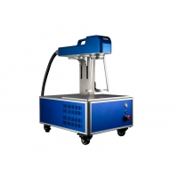 Buy cheap Small Size 1.2mm Depth Fiber Laser Marking Machine from wholesalers