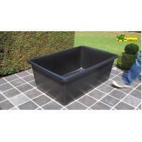 large Plastic rectangular water basin - poly pond 600Liter