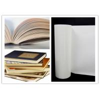 China High Temperature Hot Melt Adhesive Film  Milky White 0.12mm Thickness For  Book Binding on sale