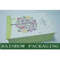 China Luxury Accessories Packaging and Printing Box , Book Shape Gray Board Paper Box wholesale
