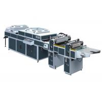 Buy cheap UV Thick / Thin Paper Threerollers Uv Coating Equipment Automatic Two Coaters from wholesalers