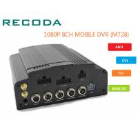 China 8 Channel 4G WIFI HD 1080P Vehicle DVR H.264 Compression For Car CCTV System wholesale