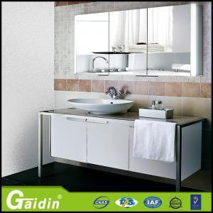 China anodized aluminum bathroom vanity lighting LED mirror cabinets wholesale