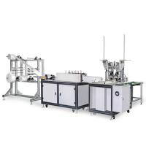 China 120-150 PCS / Min Disposable Mask Making Machine Customized Mask Size Stable wholesale
