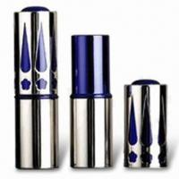 China Lipstick Tube with 70mm Height and Sand Polished, Customized Colors are Accepted wholesale