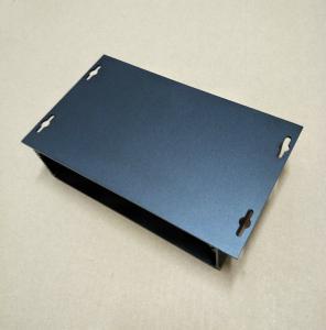 China Matt Black Sandblasting Extruded Aluminum Enclosure Box wholesale