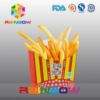 Quality Biodegradable Take Away Disposable Paper Box French Fry Packaging for sale
