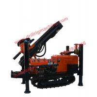 Buy cheap 130-254mm diameter DTH water well drilling machine 180m depth capacity from wholesalers