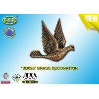 China REF. BD028 Brass Pigeon Tombstone Decoration Size 10*10.5cm Material Copper Alloy wholesale
