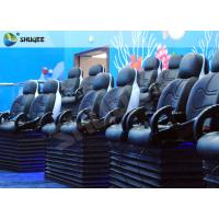 China Blue Marine Theme 5d Cinema Theater With Kids Animation And 5D Motion Chairs In Marine Park wholesale