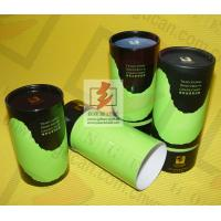 Herbal Tea Storage Container Tube Packaging , Round Gift Boxes