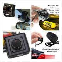 China Recoda 420 / 700 / 800 Tvl Hidden Cameras In Cars Automotive For Reversing View wholesale