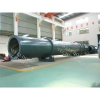 China Steam Heating Sand Rotary Dryer Low Temperature Drying Remote Control wholesale