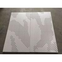 China High Strength Perforated Aluminum Ceiling Tiles Ral & Panton Color on sale