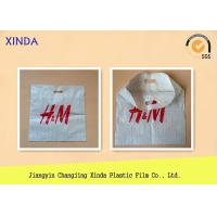 China Top fold die cut heat sealed carrier recycle bags with punch handle no gusset wholesale