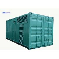 China 1000kVA Containerized Silent (Genset/Electric generator) Diesel Generator Industrial Genset with Auto Fuel Pump wholesale