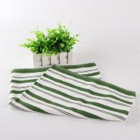 China White And Green Kitchen Tea Towels , Printed House Kitchen Dish Cloths wholesale