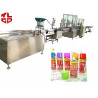 China Pneumatic Power Automatic Aerosol Filling Machines For Snow Sprays Party Strings wholesale
