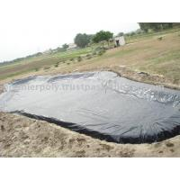China 0.2mm - 3mm Thickness Geomembrane Pond Liner HDPE / PVC Geomembrane Poll Liner wholesale