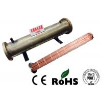 China Professional Horizontal Shell And Tube Condenser R407C Refrigerant Energy Saving wholesale