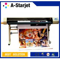Quality 540 Nozzles DX5 Eco Solvent Printer ,High Speed With Four DX5 Print Head for sale