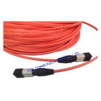 China MPO Multi Mode Fiber Optic Patch Cable Low Insertion Loss For FTTX wholesale