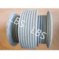 China Stainless Steel Variable Diameter Wire Rope Drum For Hoist Machinery wholesale
