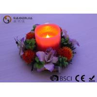 China Customized Decorative Led Candles With Moving Wick Portable DL-011 wholesale