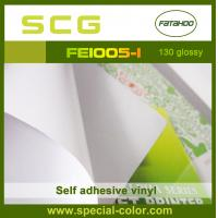 130gsm White Glossy Printable Self Adhesive Vinyl In Roll
