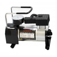 China Automotive 12 Volt Metal Air Compressor With Watch / Hand Shank Pump wholesale