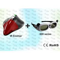 China External 3D Shutter Glasses and SYNC Emitter for PC wholesale