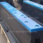 China UHMW-PE Front Panel for marine fender wholesale