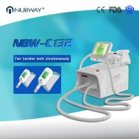 China USA Hot Sales Portable 2 Handles Working Simultaneously Cryolipolysis Liposuction Machine wholesale