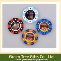 China High Quality Round 11.5g Clay Poker Chips/Ceramic Poker Chips on sale