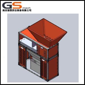 China Mini Plastic Bottle Shredder Machine For Soft Packing Belt / Plastic Bag Shredder Machine wholesale