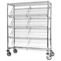 China Highly Visible Slanted 27 Degree Angled Storage Shelves Display Solutions wholesale
